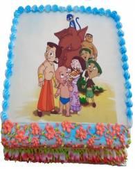 Chota Bheem Team Cake - 1 KG
