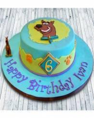 Scooby Cake