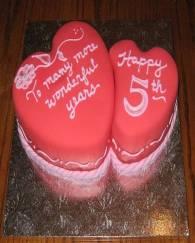 Year Anniversary Cake