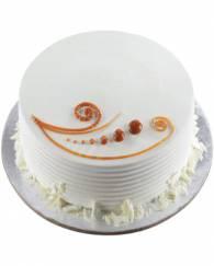 Beautiful vanilla cake - 1 KG