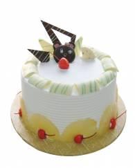Round-Pineapple-Cake - 1/2 KG