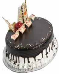 Choco Vanilla Cake - 1/2 KG