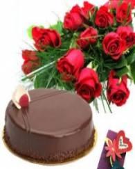 Rose & Cake