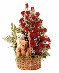 Rose n Teddy delight