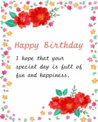 Birth Day Greeting Card