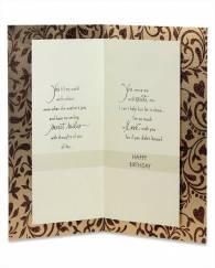 For My Husband Birthday Card