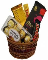 Mix Chocolate Basket