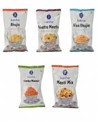 Mix 5 Packet Bhujiya and Namkeen