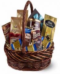 Coffee And Chocolate Basket