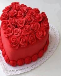 Get a lovely and charming Red Velvet Cake