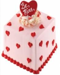 Be Mine' Mini Valentine Cake