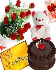 Valentine Gift Cake